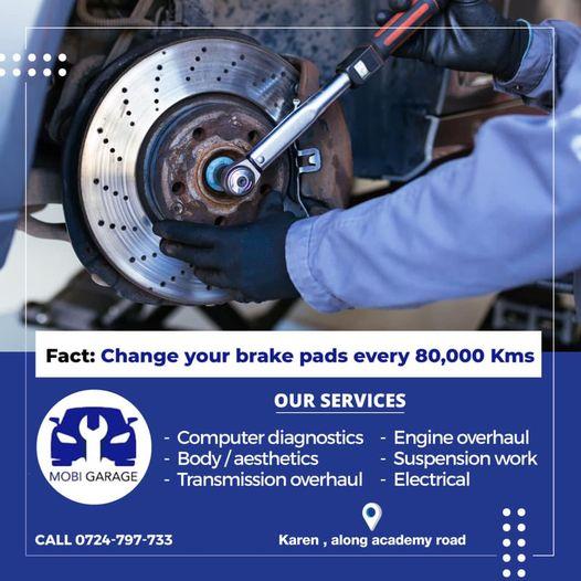 mobityre brake replacement kenya